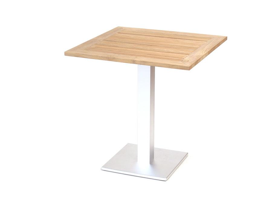 Arktis Tisch - quadratisch, Teak - Erhart Gartenmöbel